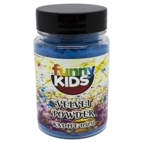 Funny Kids  Kadife Tozu 90cc  TURKUAZ