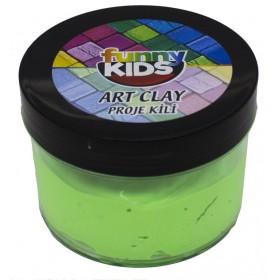 Funny Kids Sanat Kili 45gr NEON YEŞİL