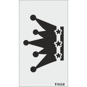 biStencil Şablon 9x16cm V-058