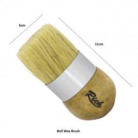 Rich Chalked Boll Wax Brush