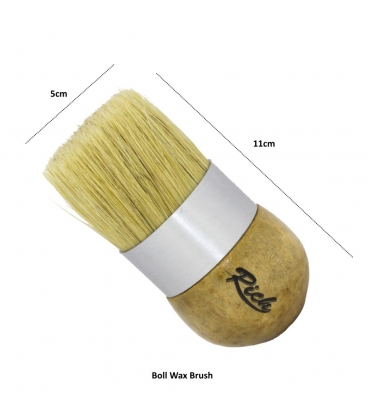 Rich Chalked Boll Wax Brush