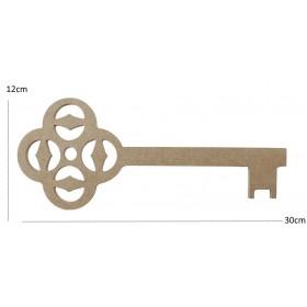 Anahtar 30x12cm Duvar Süsü Ahşap Obje