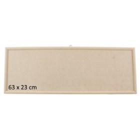 Çıtalı Ahşap Pano 63x23 cm