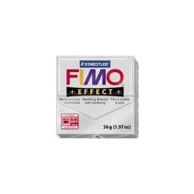Staedtler Fimo Effect Polimer Kil 812 Silver (Simli)