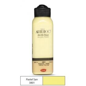 3801 Pastel Sarı Artdeco Yeni Formül Akrilik Boya 140 ml