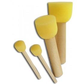 4'lü Sünger Tampon Fırça Seti