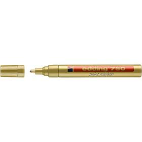 Edding 750 Tam Örtücü Boya Kalemi ALTIN 2-4mm Yuvarlak uç