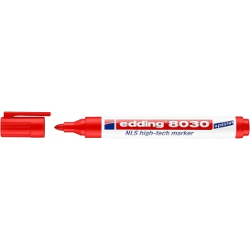 Edding 8030 NLS Marker (Paslanmaya Karşı Dayanıklı) KIRMIZI