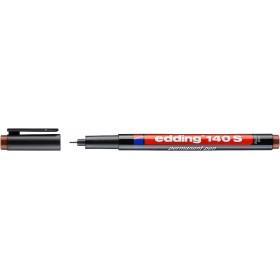Edding 140S Çok Amaçlı Asetat Kalemi - Permanent KAHVERENGİ 0.3mm Kesik uç