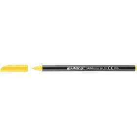 Edding 1200 Grafik Kalemi Sarı