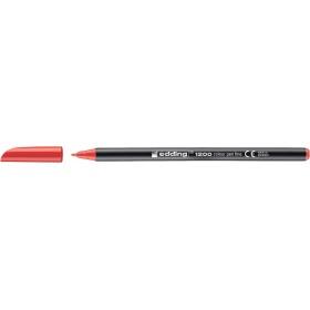 Edding 1200 Grafik Kalemi Kırmızı