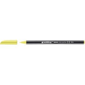 Edding 1200 Grafik Kalemi Fosforlu Sarı