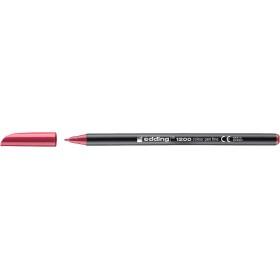 Edding 1200 Grafik Kalemi Carmina Kırmızısı