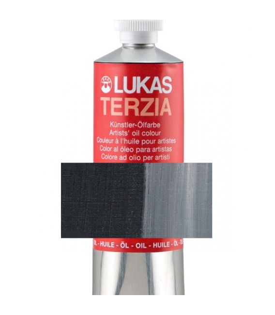 Lukas Terzia Yağlı Boya 37 ml. 585 LAMP BLACK