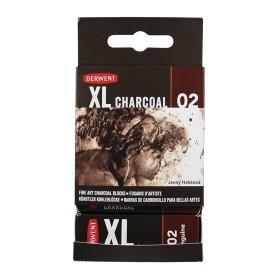 Derwent XL Charcoal Füzen Blok Sanguine No:02