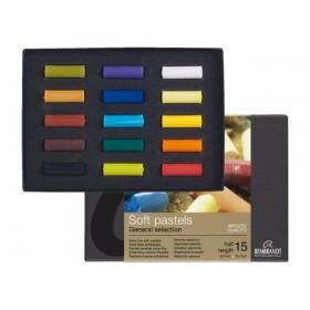 Rembrandt Soft Pastel Boya 15 Renk Yarım Boy