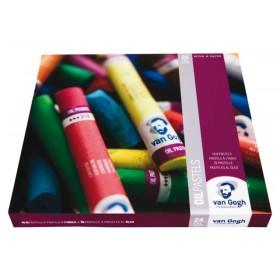 Talens VanGogh Yağlı Pastel Boya 24 Renk