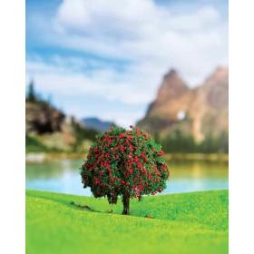 Kırmızı Çiçekli Ağaç 5,5 cm 2 li