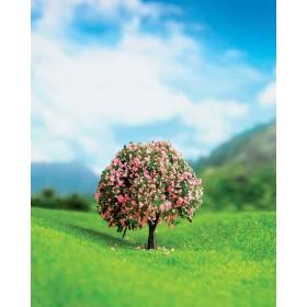 Mor Çiçekli Ağaç 7 cm 2 li
