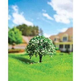 Yeşil Çiçekli Ağaç 7 cm 2 li