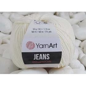 YarnArt Jeans Amigurumi El Örgü İpi 50gr - 03 KREM