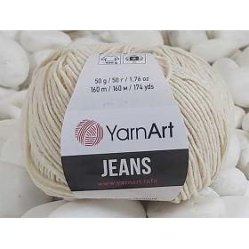 YarnArt Jeans Amigurumi El Örgü İpi 50gr - 05 EKRU
