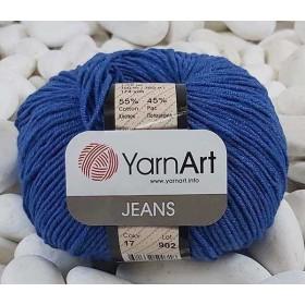 YarnArt Jeans Amigurumi El Örgü İpi 50gr - 17 MAVİ