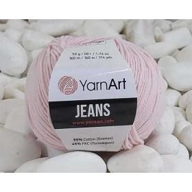 YarnArt Jeans Amigurumi El Örgü İpi 50gr - 18 BEBE PEMBE