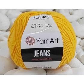 YarnArt Jeans Amigurumi El Örgü İpi 50gr - 35 KOYU SARI
