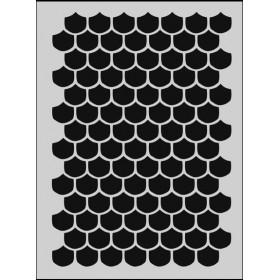 M019 Stencil 14x20 cm