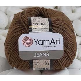 YarnArt Jeans Amigurumi El Örgü İpi 50gr - 40 AÇIK KAHVE