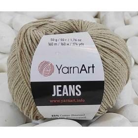 YarnArt Jeans Amigurumi El Örgü İpi 50gr - 48 BEJ