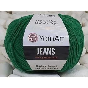 YarnArt Jeans Amigurumi El Örgü İpi 50gr - 52 YAPRAK