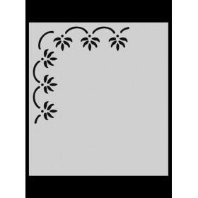 M021 Stencil 14x20 cm