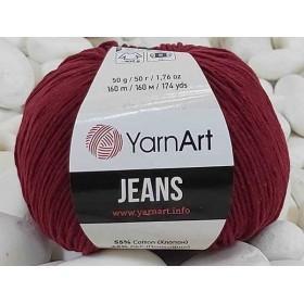 YarnArt Jeans Amigurumi El Örgü İpi 50gr - 66 BORDO