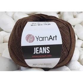 YarnArt Jeans Amigurumi El Örgü İpi 50gr - 70 KAHVE