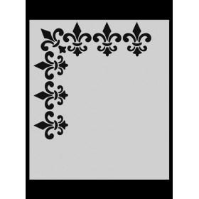 M027 Stencil 14x20 cm
