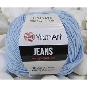 YarnArt Jeans Amigurumi El Örgü İpi 50gr - 75 BEBE MAVİ