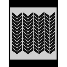 M028 Stencil 14x20 cm