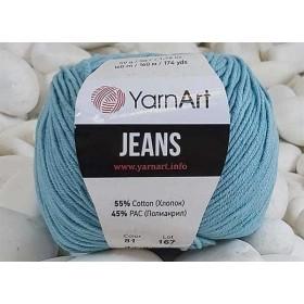 YarnArt Jeans Amigurumi El Örgü İpi 50gr - 81 CAM GÖBEĞİ