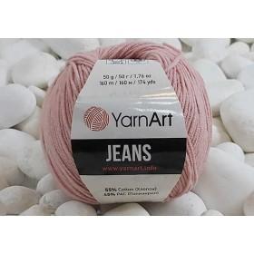 YarnArt Jeans Amigurumi El Örgü İpi 50gr - 83 PUDRA
