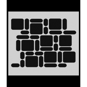 M029 Stencil 14x20 cm