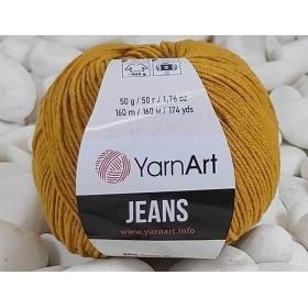 YarnArt Jeans Amigurumi El Örgü İpi 50gr - 84 HARDAL