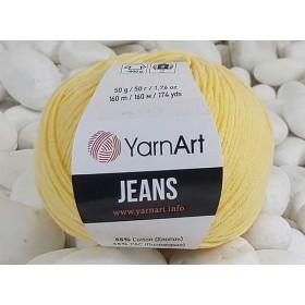 YarnArt Jeans Amigurumi El Örgü İpi 50gr - 88 BEBE SARI