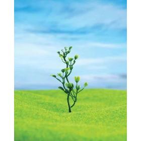 Yeşil Çiçek 8 cm 5 li