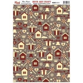 Rich Pirinç Dekopaj Kağıdı P-8635