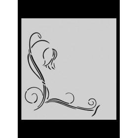 M045 Stencil 14x20 cm