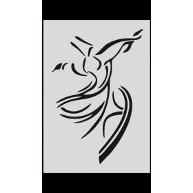S017 Stencil 9x16 cm