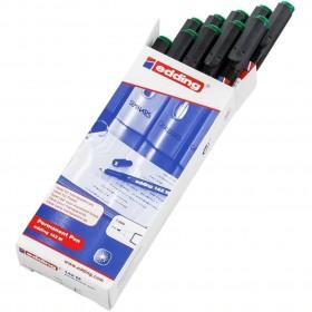 Edding 142M Asetat Kalemi 10'lu Paket Yeşil
