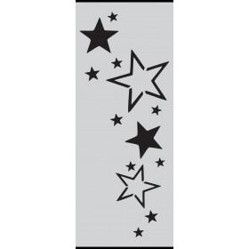 U002 Stencil 10x25 cm